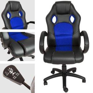 Tectake-silla-escritorio-gamer, Tectake silla de escritorio racing