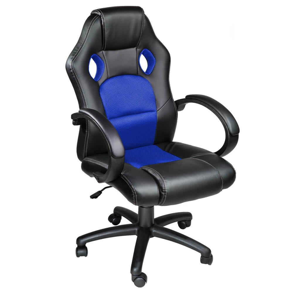 Tectake silla de escritorio racing la silla m s vendida for Sillas para escritorio easy