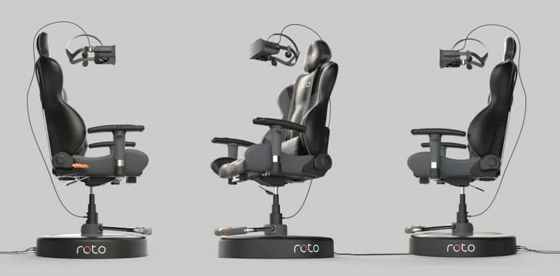 Roto VR, la Silla para vivir en la Realidad Virtual