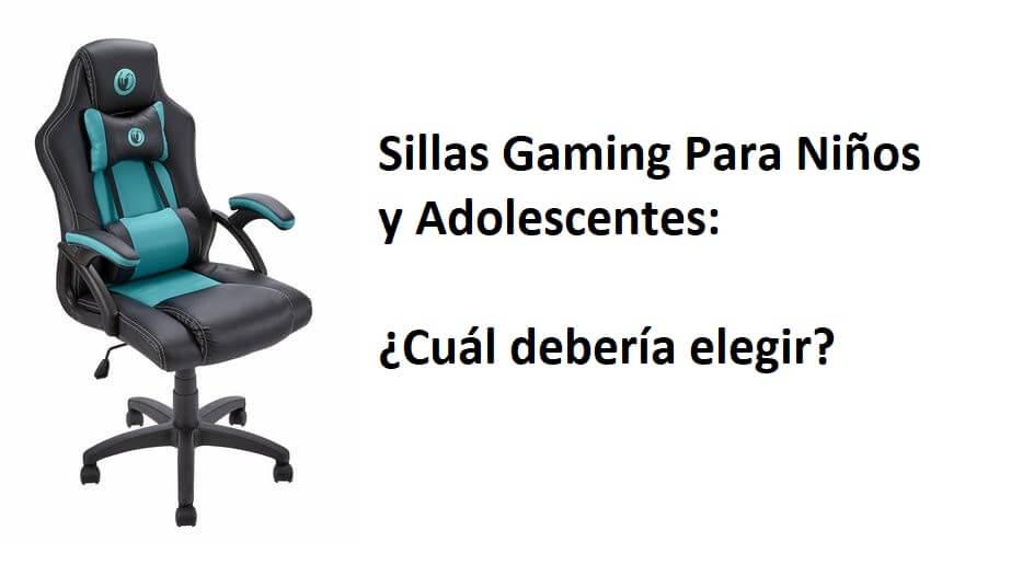 silla-gaming-ninos-adolescentes