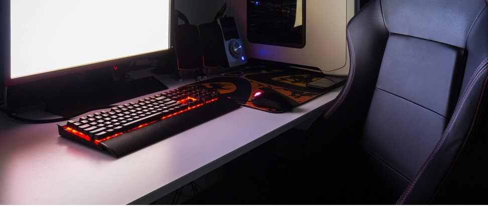 teclado-en-habitacion-gamer